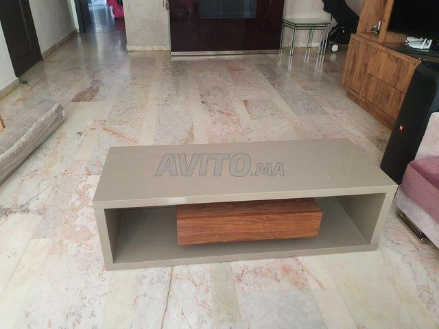 Meuble tv et table plus 3 cendrillers  - 4