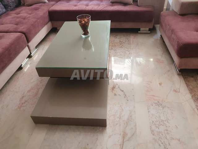 Meuble tv et table plus 3 cendrillers  - 3