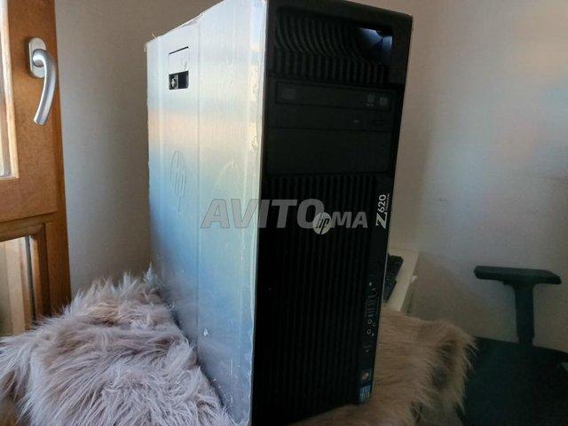 station de travail HP Z620 pro NVIDIA 64GB ram - 2