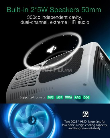 Video Projecteur home-cinema - 5