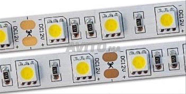 Rouleau Led 5050 60 led par m IP65 12v - 3