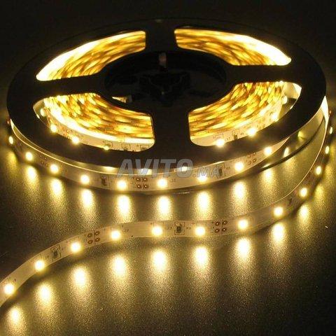 ROULEAU LED 2835 60 12V 5M IP65 6W par metre  - 1