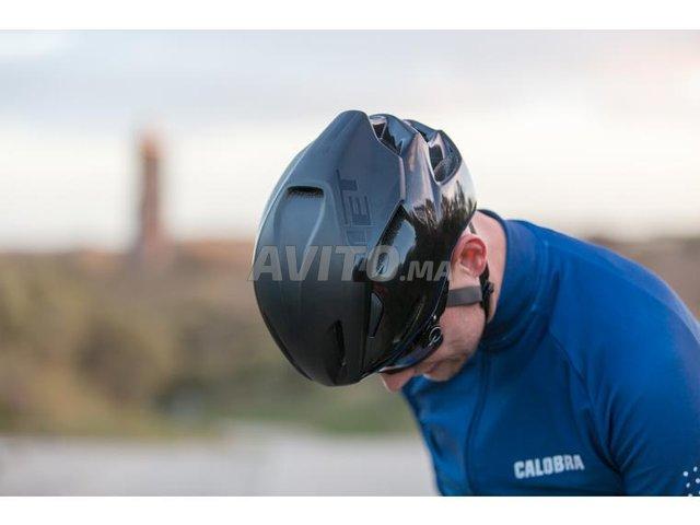 Casque Aéro Vélo Route Triathlon Met Manta Gel L - 7