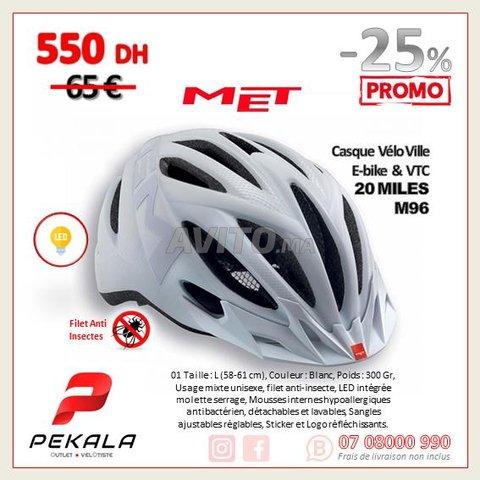 Casque Vélo Ville Ebike VTC Met 20 Miles Blanc L - 1