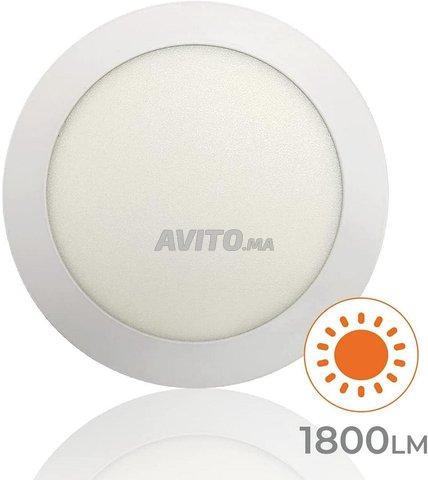 Plafonnier LED à Surface Ronde 20W - 2