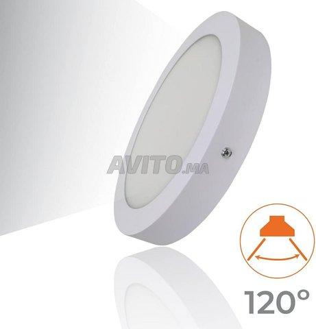 Plafonnier LED à Surface Ronde 20W - 3