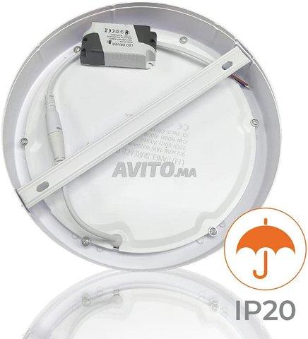 Plafonnier LED à Surface Ronde 20W - 4