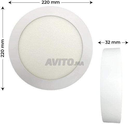 Plafonnier LED à Surface Ronde 20W - 5