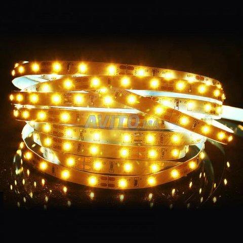 RUBAN LED 5050 60 14.4w par m 12v 5m IP68/IUO - 3