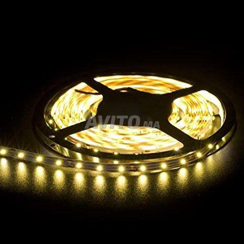 RUBAN LED 5050 60 14.4w par m 12v 5m IP68/IUO - 1