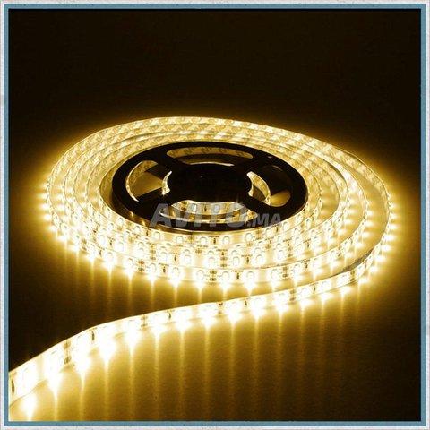 RUBAN LED 5050 60 14.4w par m 12v 5m IP68/IUO - 2