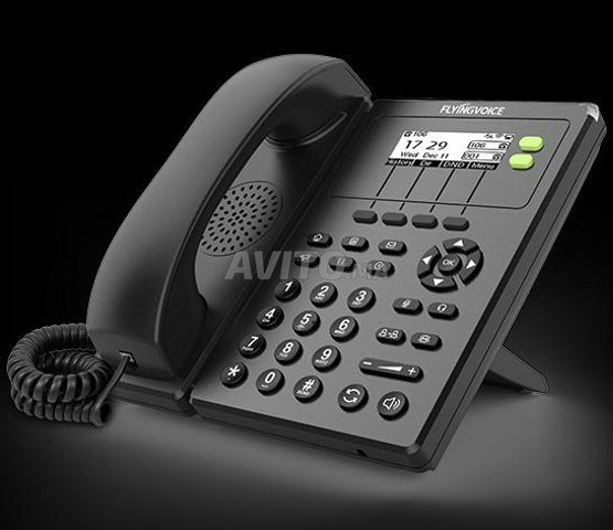 FlyingVoice FIP10P Téléphone IP VoIP - 1