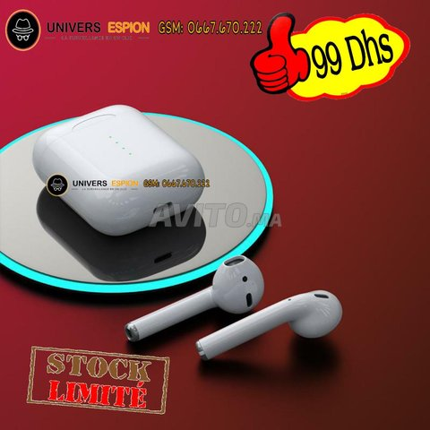 Promo écouteur i10 tws - airpods - tactile - 1