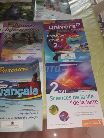 manuels programme 2eme annee college - 1