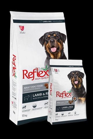 Croquettes Reflex pour chiens Adultes et Juniors - 1
