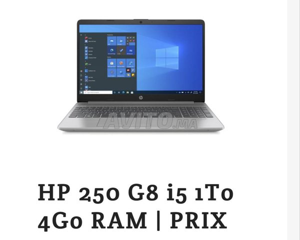 HP 250 G8 1T 4G RAM 10eme Generation - 1