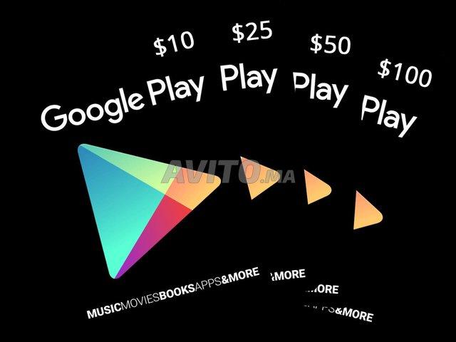 Cartes iTunes Google Play PSN Free Fire PubG - 5