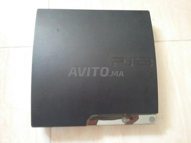 PS3 Slim 500 GB/61 jeux/2 manettes sf/3 cables - 3