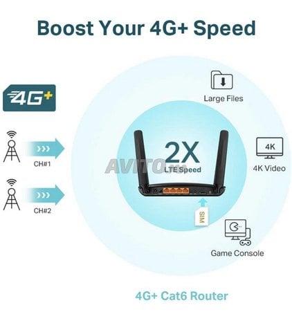 Routeur 4G LTE Compatible Tous opérateurs  - 6