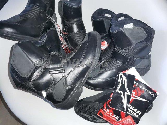 4 bottes Alpinestars noir waterproof  - 2