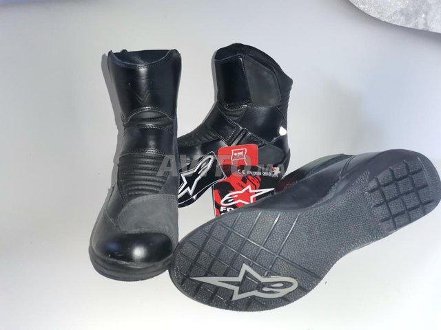 4 bottes Alpinestars noir waterproof  - 1
