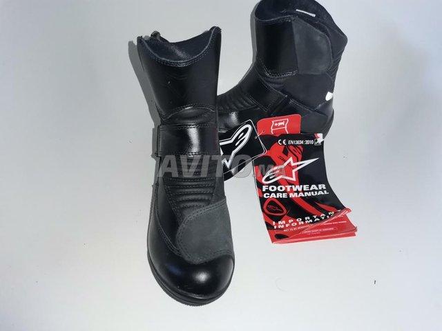 4 bottes Alpinestars noir waterproof  - 3