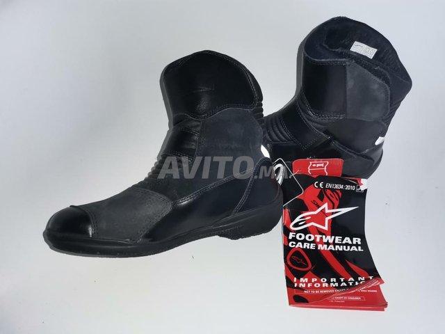 4 bottes Alpinestars noir waterproof  - 5