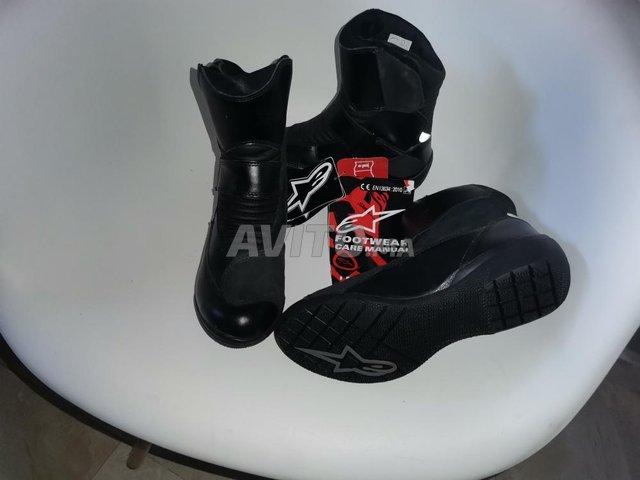 4 bottes Alpinestars noir waterproof  - 6