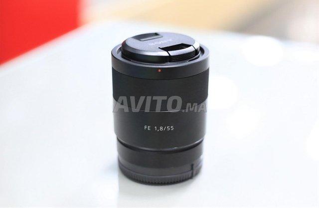 Sony 55mm F1-8 Zeiss Full Frame à a Ziitoune - 1