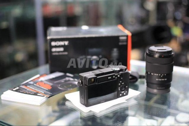 Sony Alpha A6600 OBJ18-135mm/4-0 G OSS Réf D5Kag - 2
