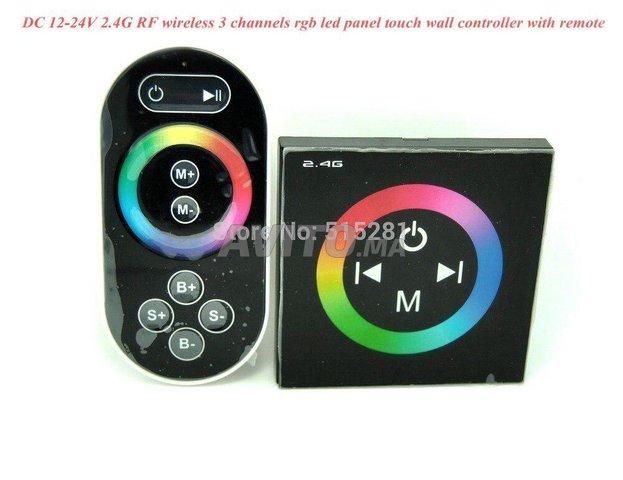 CONTROLEUR LED RGB LED RGB MURALE TACTILE - 1