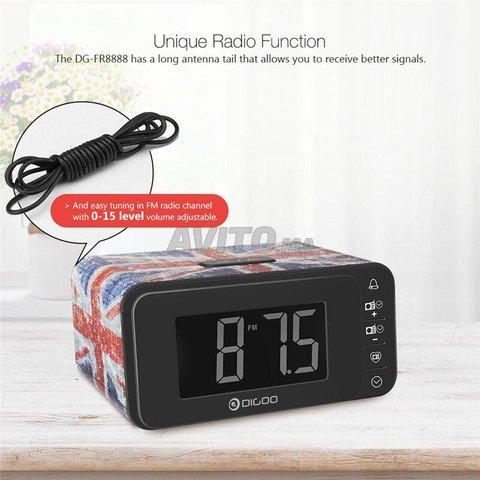 DIGOO smart alarm clock radio  - 2