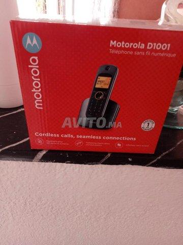 téléphone sans fil Motorola D 1001 - 1
