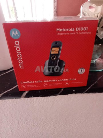 téléphone sans fil Motorola D 1001 - 3