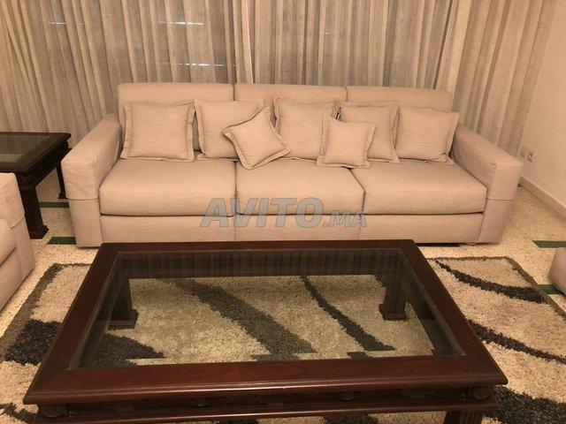 Salon moderne gris-beige - 2