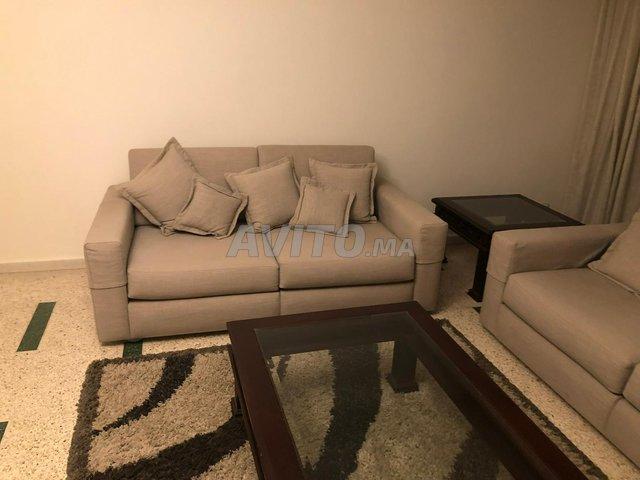 Salon moderne gris-beige - 3