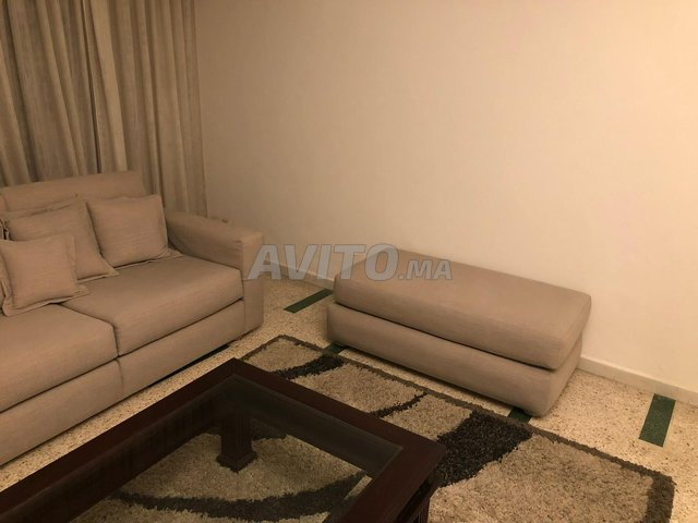 Salon moderne gris-beige - 4