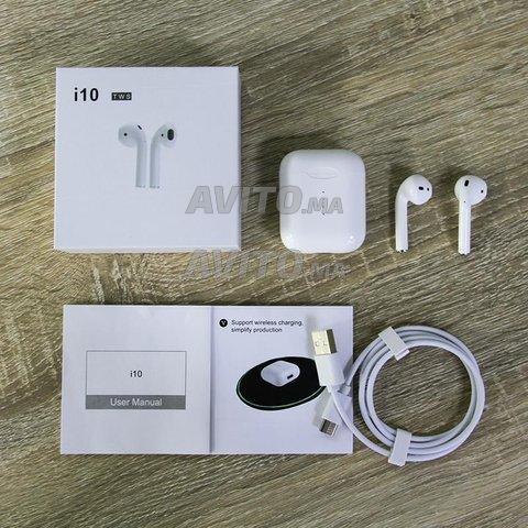 SRHJK-01 Airpods Pro - Ecouteur Bluetooth - i10tws - 1