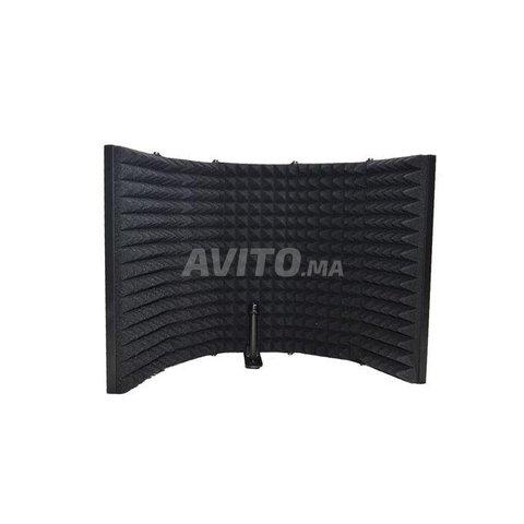Panneau acoustique pour isolation de microphone - 2