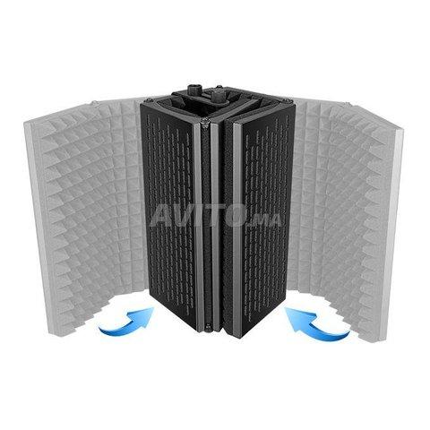 Panneau acoustique pour isolation de microphone - 6