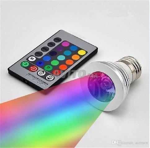 Spot 3W GU10 IR  RGB   - 4