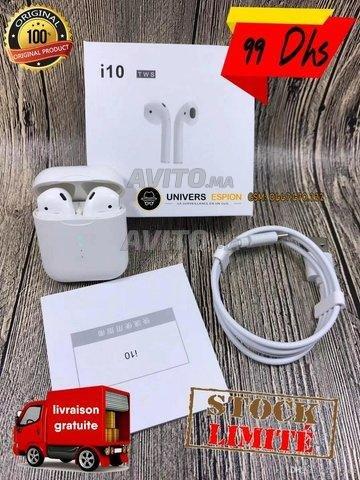 KINGAX-025 Ecouteur Bluetooth Tactile I10 Tws  - 2