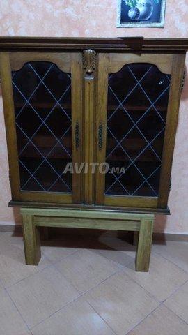 vitrine en chêne - 1