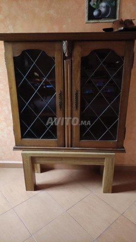 vitrine en chêne - 2