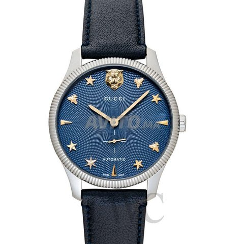 Gucci G-timeless Automatic Blue Dial 40mm neuf - 1