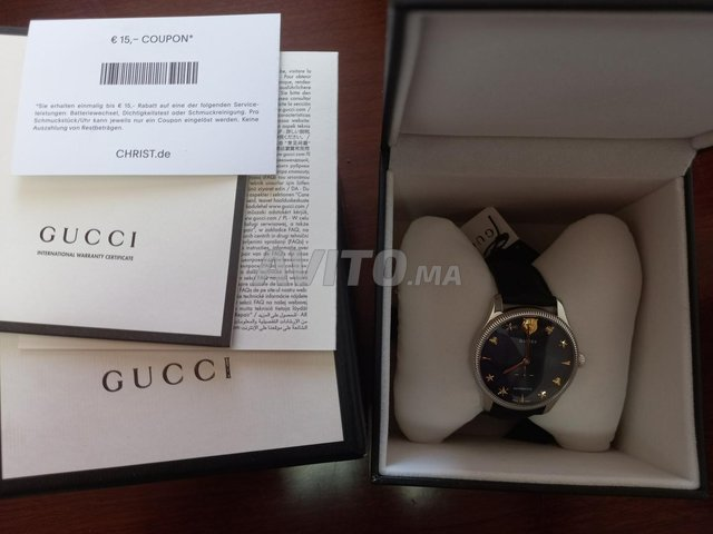 Gucci G-timeless Automatic Blue Dial 40mm neuf - 4