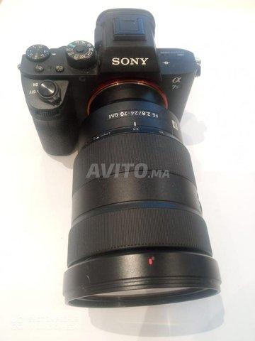 Sony A7 iiS avec Objectif G-Master f2.8 24-70 - 2