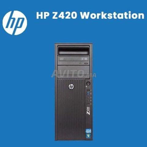 VEND EN GROS DES PC HP Workstation Z420 Xeon  - 1