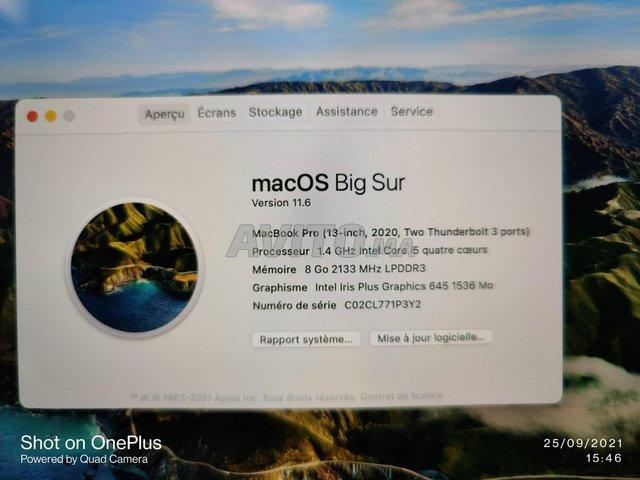 Macbook Pro Touchbar 2020 i5 8Go 512Go 13 Pouces - 3