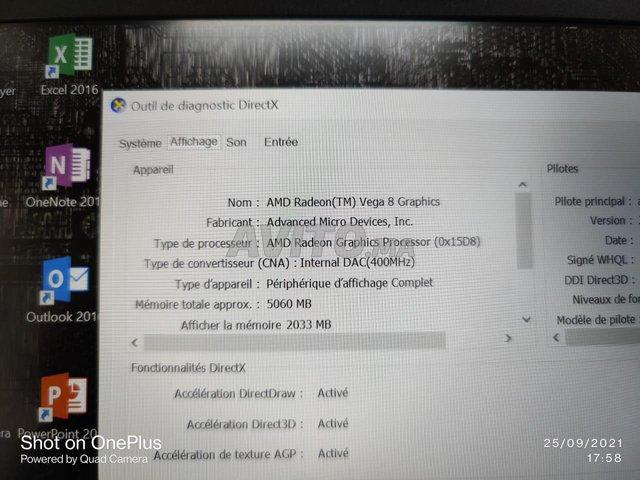 Lenovo Thinkpad E495 Ryzen 5 8Go 512Go SSD Vega 8 - 7